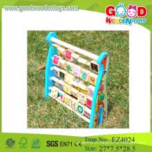 2015 novo design alfabeto jogo colorido abacus soroban cálculo quadro