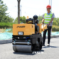 Pedestrian road roller compactor machine for sale