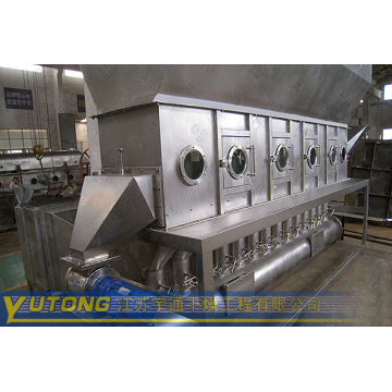 Fluidizing Dryer for Drying Pellet