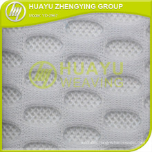 Polyester Spacer Mesh Warp Knitted Cushion 3D Spacer Mesh Fabric