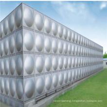 Stainless Steel Installed 200, 250, 300 Liter Waste Water Tank Steel Water Tank Stand