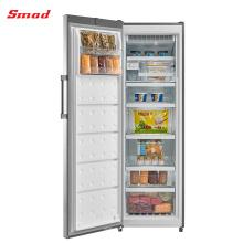 A única porta de 260L R600a automática degela o congelador comercial ereto