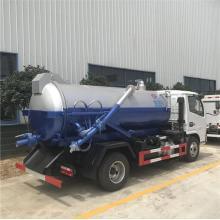 Camion d'eaux usées sous vide 4x2 Dongfeng Diesel 6000L