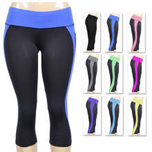 Wholesale Sexy Custom Bodybuilding Tight Capri Yoga Pant for Women