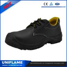 Zapatos de seguridad Uppper de cuero repujado clásicos simples Ufb55.1