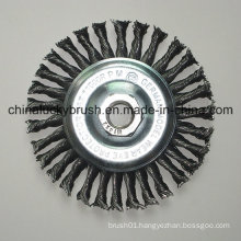 4inch Steel Wire Knotted Wheel Brush with M14X2 (YY-641)