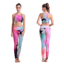 Factory 3D Digital Full Print Colorful Yoga Sexy Leggings for Women