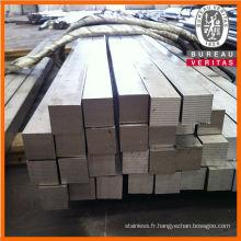 321 en acier inoxydable barre carrée avec de bonne qualité
