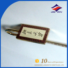Newest design nice laser university custom-made bookmark