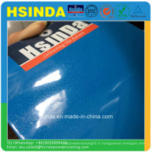 Revêtement de poudre métallique de peinture de jet de résine époxyde de polyester de couleurs personnalisables de Pantone