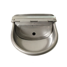 automatic cow water drinker poultry goat drinker bowl stainless steel drinker cup