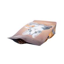Biobase Recycle Pet 15kg 10kg 5kg Food Snack Fruit Printed Zipper Food Packaging Ziplock Laminated Paper Zip Lock Cat Feed Bag Packaging Bag