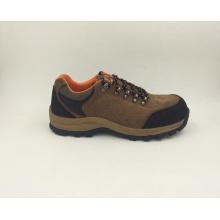Chaussures Outdoor Sports Style divisé en cuir Nubuck sécurité travail chaussures Style décontracté (16070)