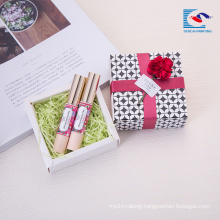 Chinese suppliers custom unique design small gift packaging paper box set