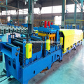 Gear box steel beam c shaped purlin forming making machine