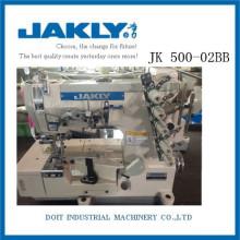JK500-02BB Agradável para olhar Tem alta qualidade de alta velocidade ROLLED-EDGE STRETCH Máquina De Costura