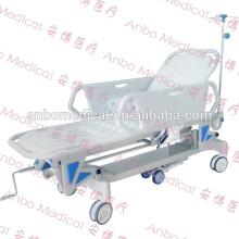 CE approved hospital furniture transfer stretcher bed sensor pad