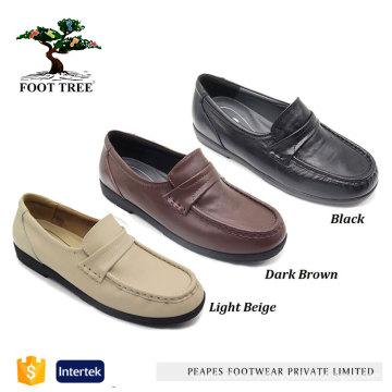 Мягкие женские туфли из натуральной коровьей кожи