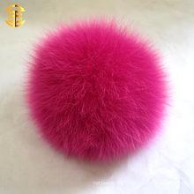 Vente en gros cayenne 13cm fourrure en fourrure Pompom / Lovely / Custom-Made