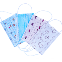 Masque chirurgical médical jetable pour enfants à 3 plis