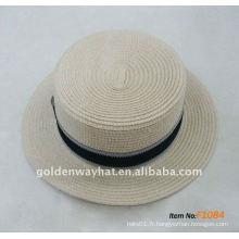 Chapeau de mode chapeau chaude chaude chapeaux panama bon marché à prix promotionnel