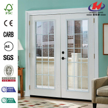 Composite blanc Outswing portes battantes Patio