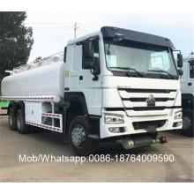 Camión cisterna de gasolina 6x4 20000 litros