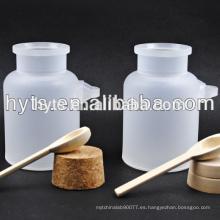 envases de sal de baño cosméticos pp