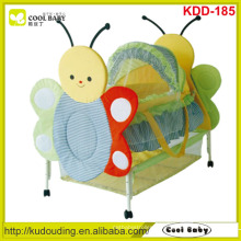 Fábrica NOVO Móveis para bebês com design animal bonito Berço portátil do bebê para o bebê recém-nascido, rede de mosquito da borboleta