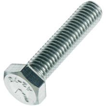 Perno hexagonal, DIN933 DIN931, acero inoxidable y acero