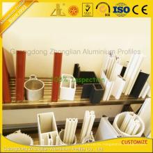 Fabricantes superiores del perfil de aluminio de China para los muebles / industrial / la pared de cortina