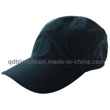 Piel de melocotón microfibra de poliéster respiración deportiva de carreras de sombrero (trRC002)