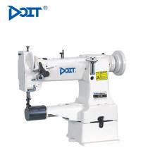 Cama de cilindro de aguja única DT 8B con máquina de coser de puntada de cadeneta de unísono