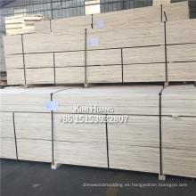 Álamo, madera de pino LVL / LVB para empacar la construcción de muebles