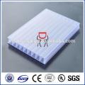 Garantie de dix ans Feuille de polycarbonate triple mur pour matériaux à effet de serre