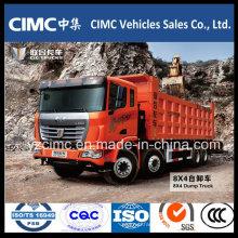 Famous Brand C&C Dump Truck 8X4 for Sales