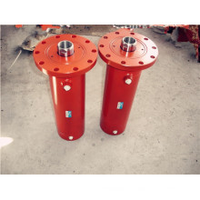 Гидравлический цилиндр для производства цементного кирпича