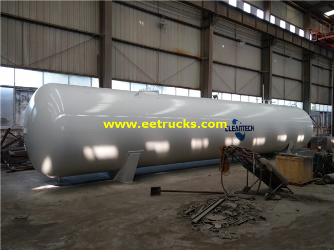 Horizontal 60m3 Propane Storage Tanks
