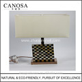 Canosa ECO-friendly golden mother of pearl with pen shell table lamps