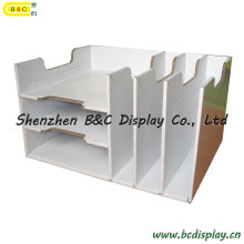 Cardboard Cubbyhole, Paper Pigeonhole, Office Stationery, Counter Shelf, Paper Box (B&C-D041)