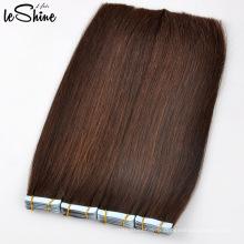 Gros Ruban Dans Les Extensions De Cheveux Naturel À La Recherche 100% Haute Qualité Brésilien Ruban Humain Cheveux