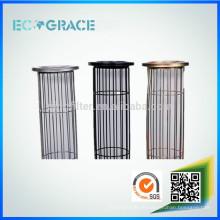 Ovaler verzinkter Stahlfilterkäfig für Staubfiltration