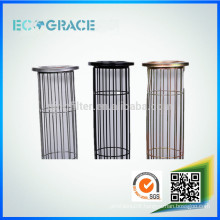 Oval type galvanized steel filter cage for dust filtration