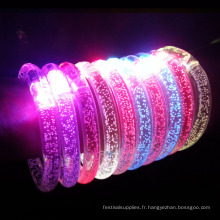parti brille led bracelets