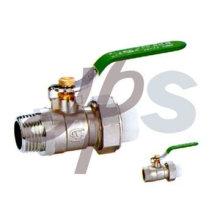 robinet à tournant sphérique en laiton PPR avec union