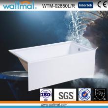 Cupc Высококачественная простая встроенная фартуковая ванна (WTM-02850)