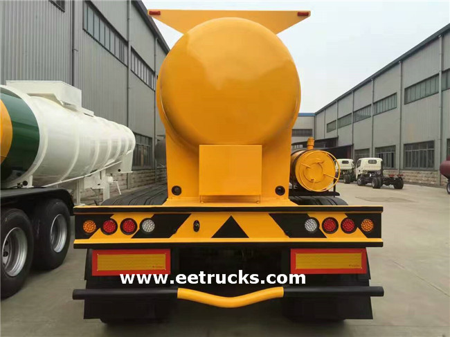 21000 Litres Sulfuric Acid Tanker Trailers