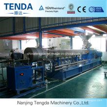 Machine de réutilisation d'extrudeuse de granule 65mm