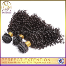 Natural Color Kinky Curly Unprocessed Wholesale Virgin Mongolian Hair