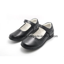 High Quality Classic Leather Shoes Student Shoes Dress Shoes (FF624-1)